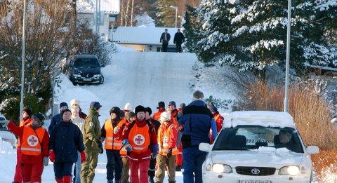 SØK: Stadig flere av de leteaksjonene Røde Kors involveres i, handler om savnede personer i fare for å ta sitt eget liv.