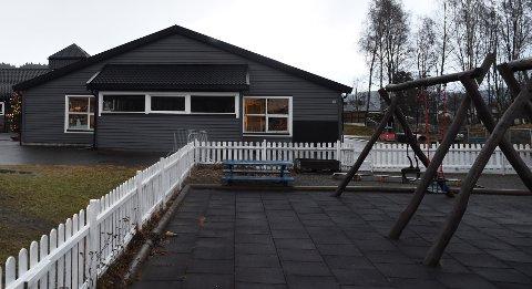 NI VIL BLI SJEF FOR DENNE OG ÅTTE ANDRE: Ni kvinner har søkt på den nyopprettede stillingen som sektorleder for barnehager i Stjørdal kommune. En av de største kommunale barnehagene er Sandskogan barnehage.