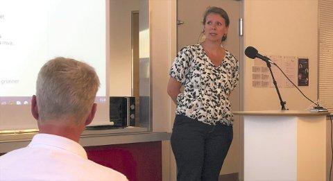 Debatt: Xtra-Listas Ingeborg Marcussen Hübertz mener hensynet til lokalsamfunnet Sandøya må veie tunkt i bopliktsaker. Foto: Marianne Drivdal