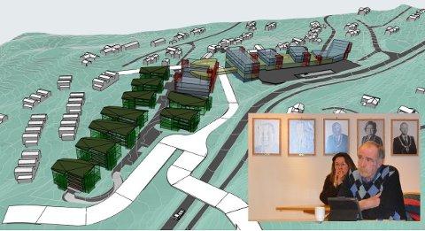 Debatt: Planane til Norske Fjellhytter er massive og har ein størrelse på opp til fem etasjar ein kilometer nord for Beitostølen. Ei omregulering må til. Gunnar Thue i Høgre var skeptisk til å gje klarsignal for vidare planarbeid, før dei har hatt ei synfaring. Avstemminga enda 4–1 for vidare planarbeid.