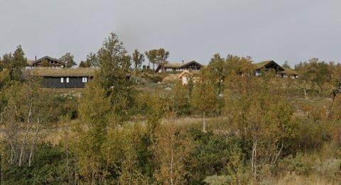 DYRESTE EIENDOM: En av disse hyttene i Haralie ble nylig solgt for 5,49 millioner kroner.