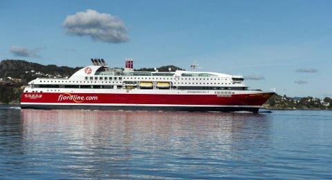 MS Stavangerfjord blir ikke å se i Bergen ut 2020.
