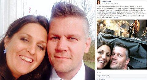 Ellen Paulsen og Cato Torp Hadde en ubehagelig opplevelse i Frogntunnelen. Etter Ellen skrev om nestenulykken på Facebook har responsen vært enorm.