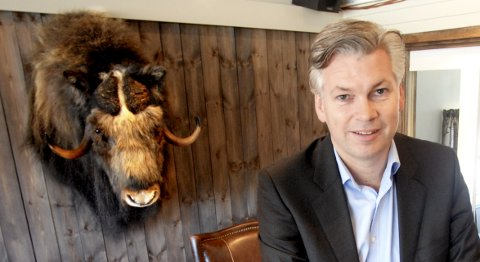 AVTALEN KLAR ONSDAG: Øyvind Frich på Dombås overtar driften av Kongsvold Fjeldstue på Dovrefjell.