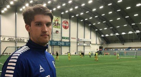 Tilbake: Martin Pedersen er endelig skadefri, og ser virkelig fram til seriestart for Junkeren. Foto: Stian Høgland