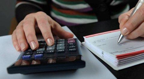 Annenhver nordmann takler ikke en uforutsett regning tilsvarende en halv månedslønn uten å måtte låne. FOTO: FRANK MAY, NTB SCANPIX