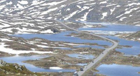 Både bedrifter og kommuner Hardanger-området har gitt klar bedskjed om at regjeringen og Stortinget må gå inn for E134 over Haukeli som øst-vest-stamvei og regne ny fergefri forbindelse mellom Odda og Bergen inn i planene. FOTO: KRISTIN EIDE, HARDANGER FOLKEBLAD