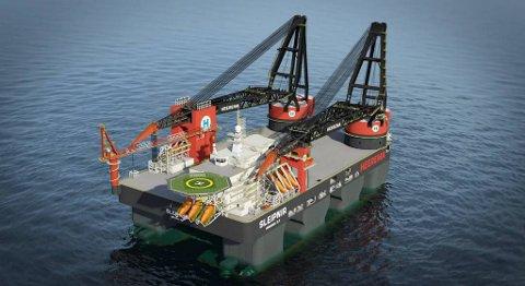 Dei nye livbåtane skal leverast til Sleipnir. PRESSEFOTO