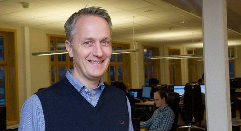 Anders Håkon Lier er ny toppsjef i Enoro-konsernet. FOTO: GEIR IVAR L. RAMSLI, FIRDA