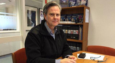Reiselivsdirektør Ole Warberg regner med at antall kinesiske turister i Bergen vil øke også i årene fremover. FOTO: SVEIN TORE HAVRE