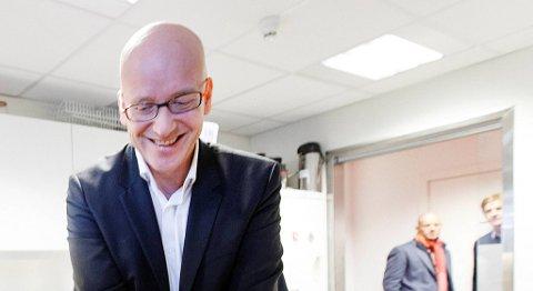 Geir Inge Stokke har halvert ledergruppen i Coop etter at han overtok som konsernsjef. FOTO: GORM KALLESTAD, NTB SCANPIX