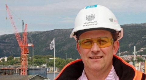 Asbjørn Grini skal lede satsingen på fornybar energi. FOTO: BERGEN GROUP SERVICES