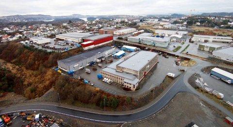 Den nye «grønne» satsingen til Bergen Group Services skal ha hovedkvarter ved selskapets avdeling på Straume på Sotra. FOTO: BERGEN GROUP SERVICES