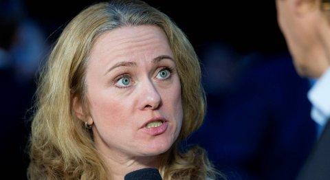 Arbeids- og sosialminister Anniken Hauglie (H) vil gjøre det lettere å kombinere dagpenger med utdanning. FOTO: HÅKON MOSVOLD LARSEN, NTB SCANPIX