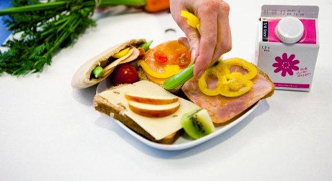 Nå blir det gratis frokost på flere av de videregående skolene i fylket. (Illustrasjonsfoto)