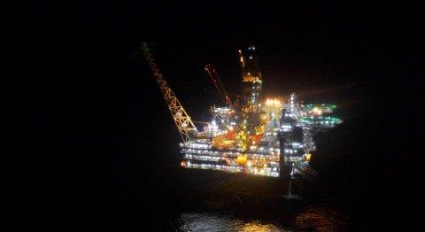 Ingen ble skadet i gasslekkasjen på Gudrun-plattformen i Nordsjøen i fjor. FOTO: HARALD PETTERSEN, STATOIL