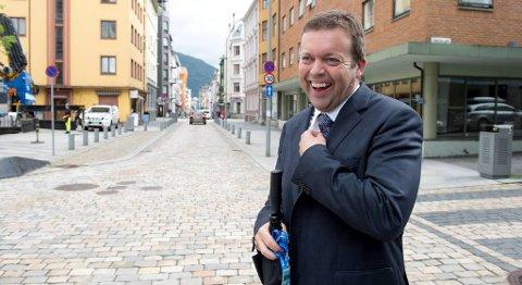 Konsernsjef i Marine Harvest Alf-Helge Aarskog mener «Egget» kan bli svært viktig for fremtidens oppdrettsnæring. FOTO: ARNE RISTESUND