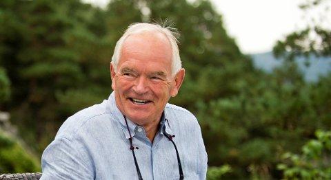Trond Mohn er gjennom selskapet Meteva en av de største støttespillerne til Greenstat. FOTO: EMIL WEATHERHEAD BREISTEIN