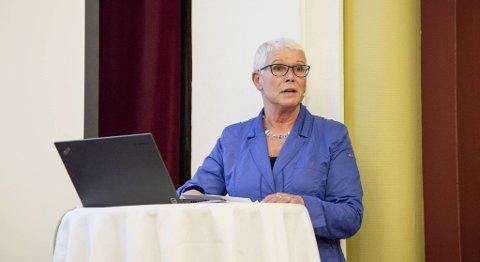 Fylkesdirektør Anne Kverneland Bogsnes i Nav Hordaland registrerer en økning i antall utlyste stillinger for tredje måned på rad. FOTO: VIDAR LANGELAND