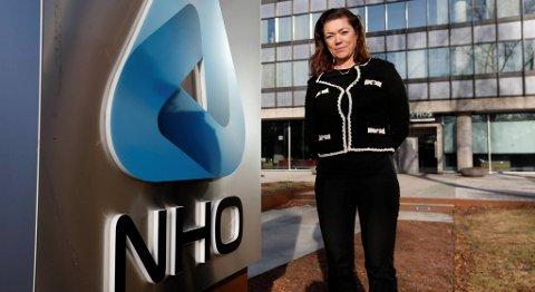 NHO-direktør Kristin Skogen Lund avviser å bringe pensjonsspørsmålet inn i tarifforhandlingene. FOTO: VIDAR RUUD, NTB SCANPIX