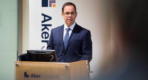 Administrerende direktør Luis Araujo i Aker Solutions er godt fornøyd med rammeavtalen med BP. FOTO: FREDRIK VARFJELL, NTB SCANPIX