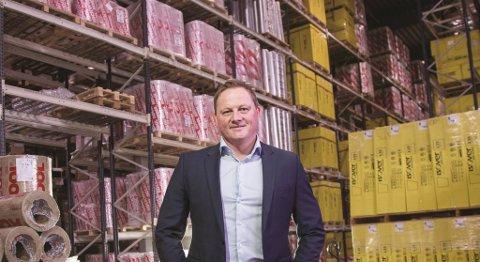 Administrerende direktør Arne Schultz i Isopartner sier at etableringen på Kokstad i første omgang vil gi jobb til fem personer. FOTO: ISOPARTNER
