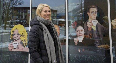 Janne Katherine Leite er ei av få kvinner i toppstillingar i Sunnfjord. Då ho søkte, var tre av åtte søkjarar kvinenr. FOTO: ELISE LØVEREIDE