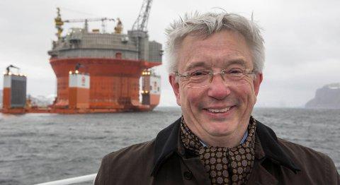 – Når man hører samfunnsdebatten om at vi må omstille oss til en «kunnskapsøkonomi», lurer jeg på om folk ikke har fått med seg hva som skal til for å hente opp olje, sier Karl Eirik Schjøtt-Pedersen, adminstrerende direktør i Norsk olje og gass. FOTO: JAN-MORTEN BJØRNBAKK, NTB SCANPIX