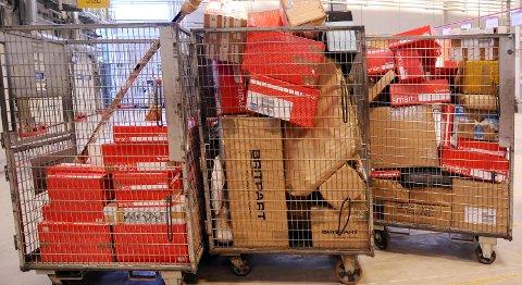 Illustrasjonsfoto Posten Norge pakker