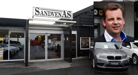Trond Sandven har sagt opp som daglig leder i Sandven-gruppen av personlige årsaker.