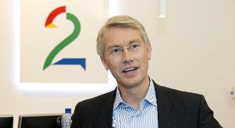 Toppsjef Olav Terjeson Sandnes i TV 2.