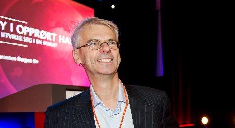 Øystein Thøgersen er rektor ved NHH. FOTO: RUNE JOHANSEN