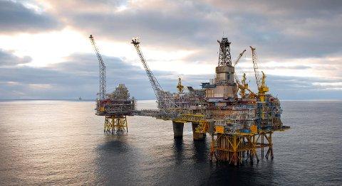 Statoil skal ansette 50 fagarbeidere hvert år fremover, melder selskapet. Bildet er fra Oseberg feltsenter. FOTO: ØYVIND HAGEN, STATOIL