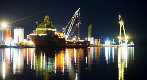 «Viking Energy» gikk i bresjen for LNG som drivstoff på verdenshavene. FOTO: MAGNE TURØY
