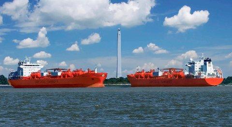 Odfjell er blant rederiene som sørger for vekst i Norsk Internasjonalt Skipsregister. FOTO: BA