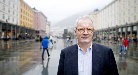 Thorstein Selvik mener det er en selvfølge at Bergen skal markere 950-årsjubileet stort.