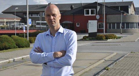 Rasmus Wille, administrerende direktør ved Equinor Refining på Mongstad. ARKIVFOTO: SVEIN TORE HAVRE