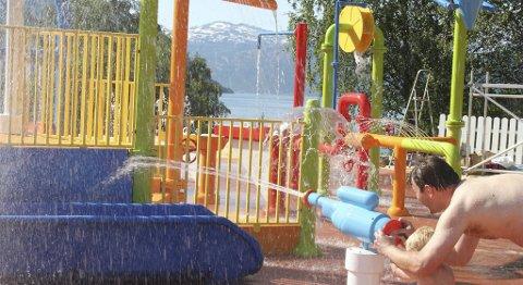 Mikkelparken håper de også kan få åpne for vannaktiviteter til sommeren.
