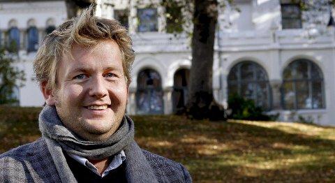 Positiv: Kultursjef Ole-Petter Holøs Pettersen håper på en løsning for kunsten i Hydrogenfabrikken