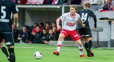 Rolvsøy IFs stolthet: Håvard Åsheim er et eksempel på at vi ønsker å utvikle gode idrettsutøvere med gode holdninger og verdier. Vi er utrolig stolte over hans fremgang på fotballbanen, skriver Trond «Kurte» Andreassen om FFK-spilleren.