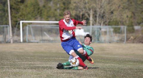 Hindret: FUVO spilte skjerpet fotball, men foran mål sa det stopp.