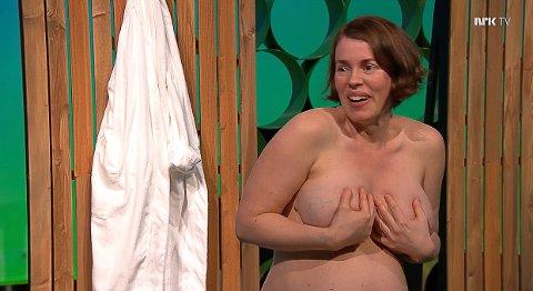 """Guro Trøseid Gjerstadberget fra Sør-Odal er opptatt av at barn og unge skal få et naturlig forhold til kropp og nakenhet. Derfor er hun med på NRKs """"Superkroppen""""."""