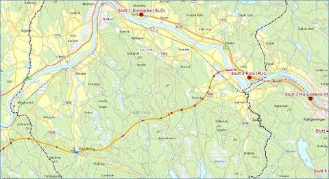 NY LØSNING: Nye Veier vil at man skal se på en alternativ løsning for det sørlige C-alternativet i Sør-Odal og Kongsvinger. Dette skal styret ta stilling til torsdag.