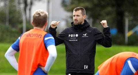 Trener Eirik Horneland.