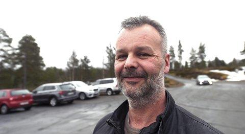 Daglig leder i IL Skrim. Lars Wettestad, har ikke noe vondt å si om de som tok seg inn i Skrimhallen. (Bildet er tatt ved en annen anledning)