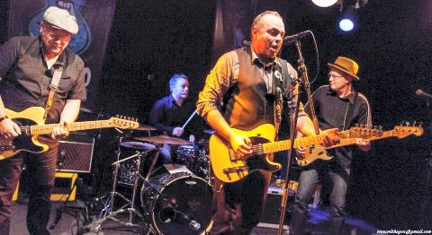 LAGER LIV: Sears Crossing spiller blues og rock på Christians kjeller lørdag kveld.