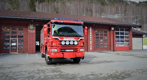BYGGER OM: Brannvesenet i Nore og Uvdal  bygger om en brannbil til en tankbil