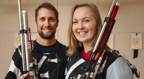 Flere medaljer: Malin Westerheim tok to gull, mens Are Hansen sikret seg én sølv- og en bronsemedalje. Foto: Geir Hansen