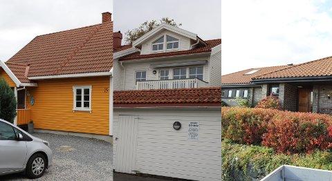 Disse tre boligene er noen av eiendommene som ble solgt i mossedistriktet i september.