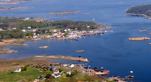 Sommerparadis: På postnummer 1690 Herføl har 62,1 prosent av de skattepliktige innbyggerne millionformue. Ingen andre postnummer i landet har en større andel.